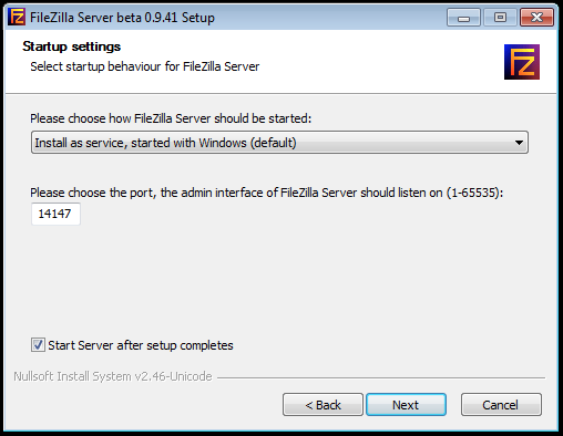 Setting up a FTP Server On Your Home Computer Image 1