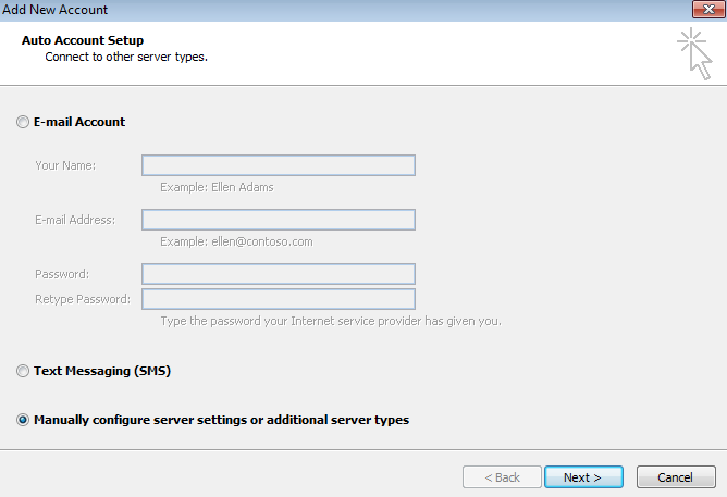 Configuring Microsoft Outlook For Use With No-IP POP/IMAP Service Image 2