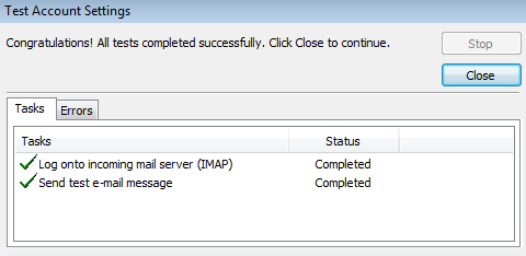 Configuring Microsoft Outlook For Use With No-IP POP/IMAP Service Image 7