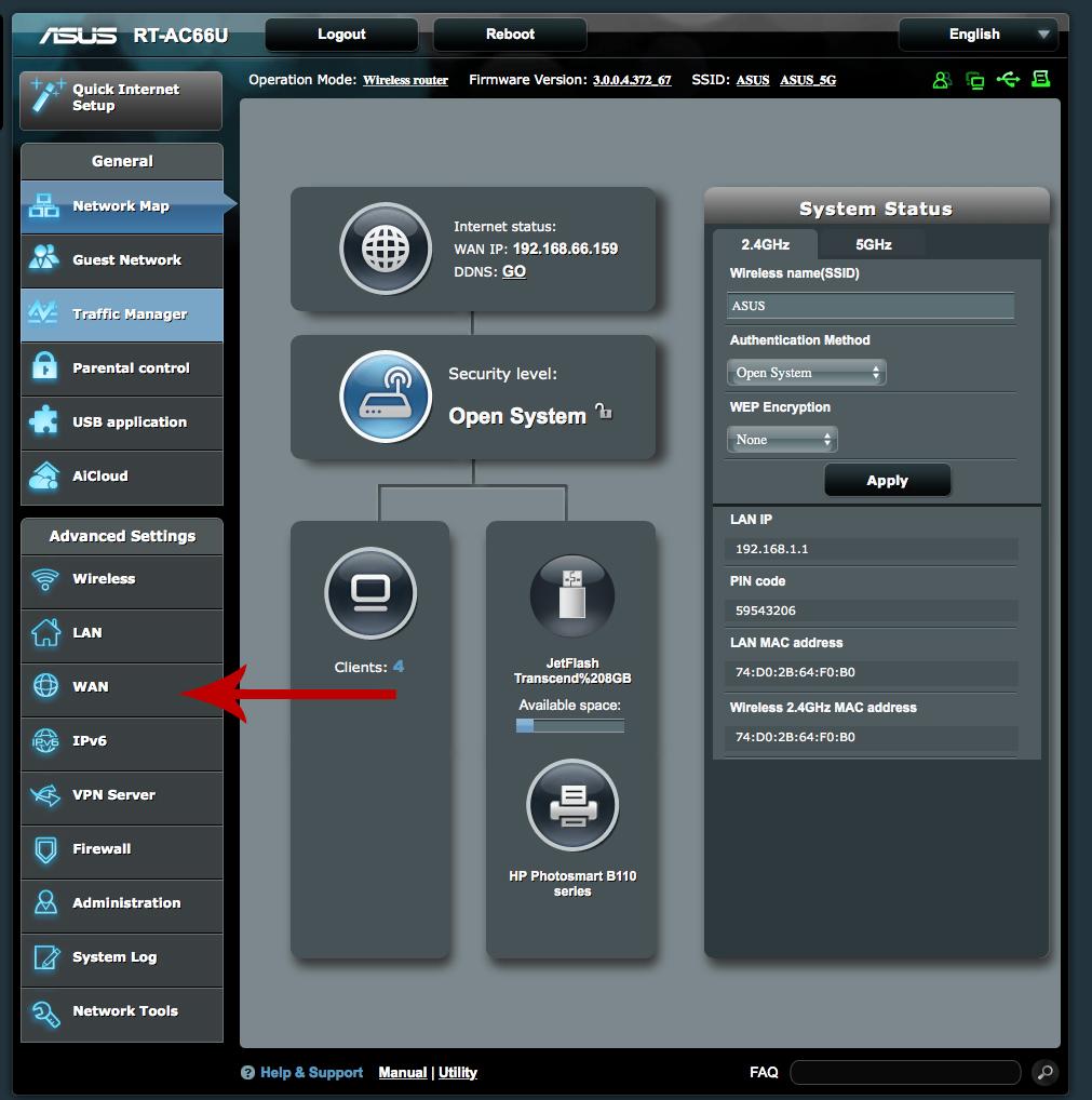 how to set manual ip