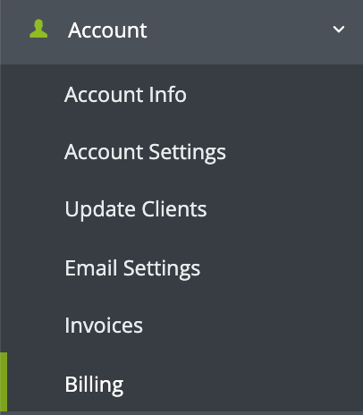 Account Billing