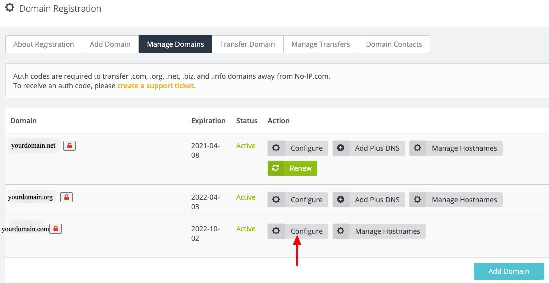 click_configure_next_to_your_domain