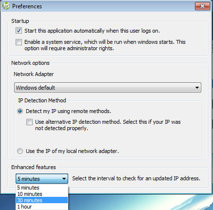 Installing the Windows 4 x Dynamic Update Client (DUC)