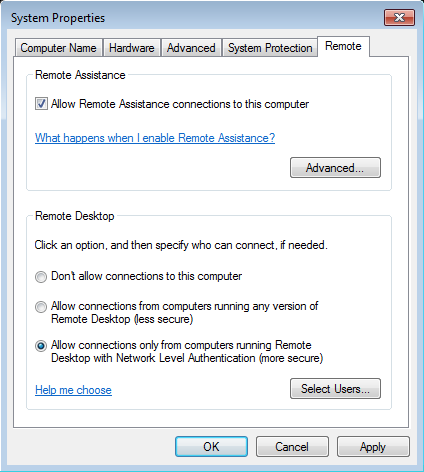 Using Remote Desktop with No-IP | Support | No-IP Knowledge Base