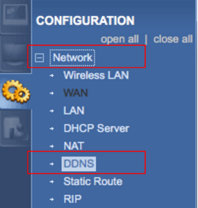 How to Setup and Configure Dynamic DNS (DDNS) in a ZyXEL