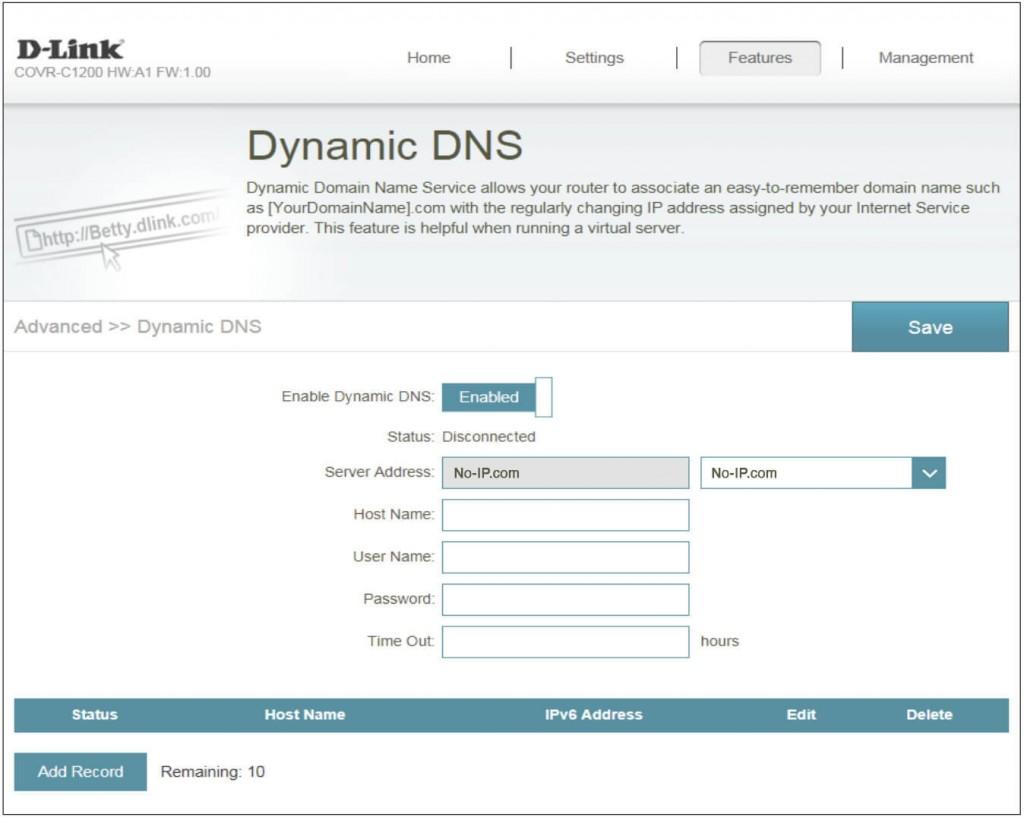 D-Link DDNS